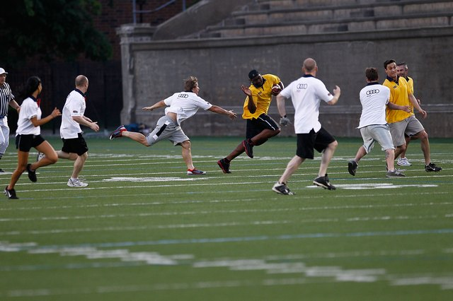 Tom Brady's Flag Football Match Kicks Off 2010 Audi Best Buddies Challenge