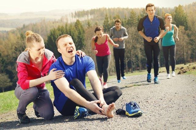 Injury during jogging