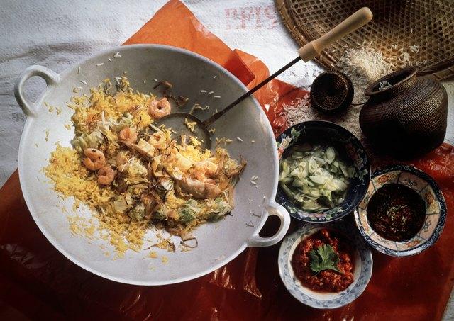 Indonesian Rice Pan Dish