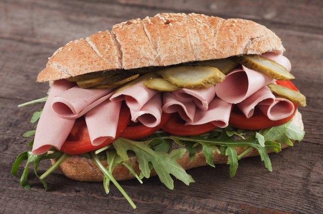 Baloney submarine sandwich