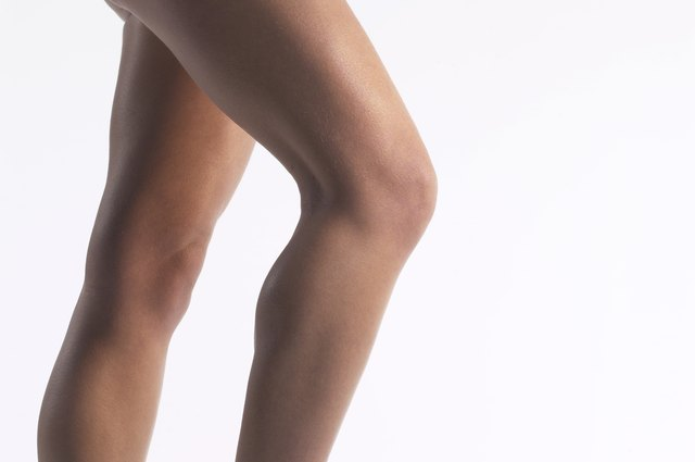 Cropped shot of a woman's legs