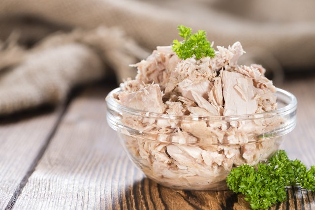 Portion of Tuna