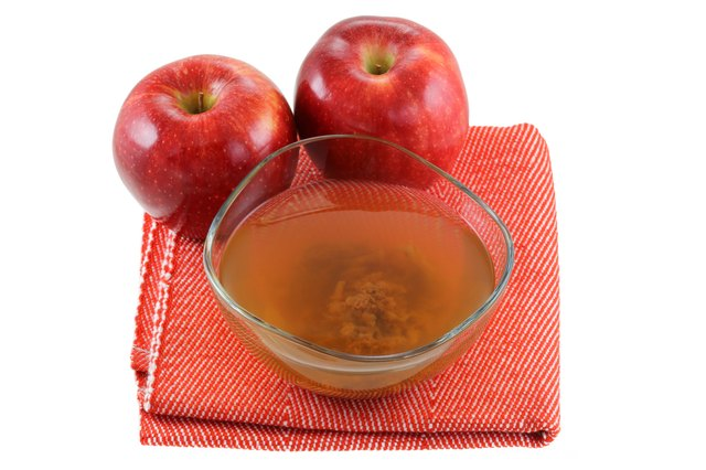 Apple cider vinegar with mother enzymes