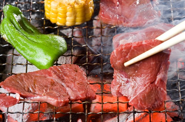 Close Up of Grilled Beef