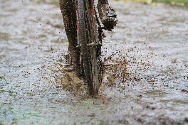 Muddy  & Sloppy Cycling Conditions