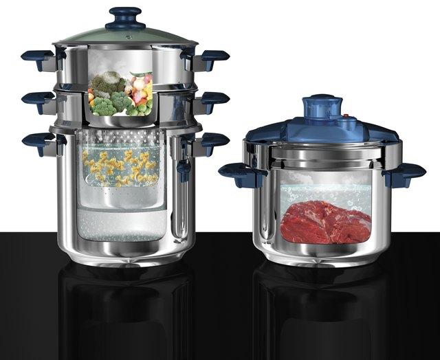 Multi functional cook ware set