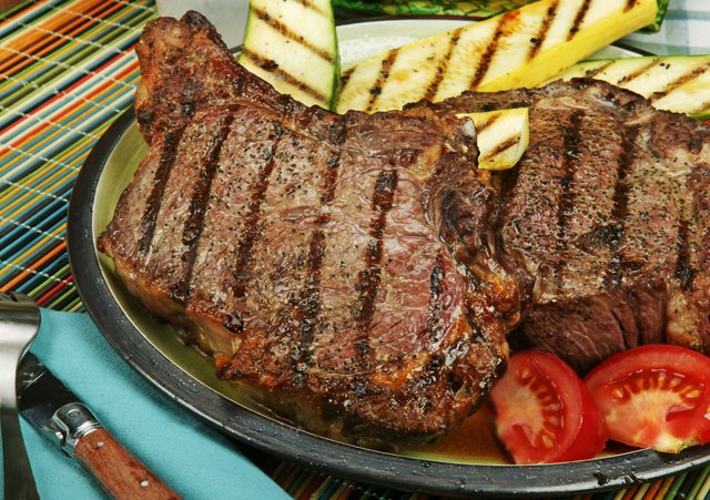 bone in rib eye steak