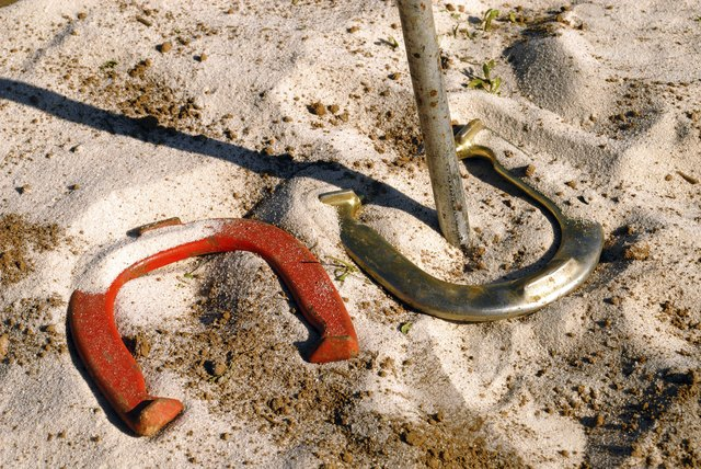Real ringer game of horseshoes