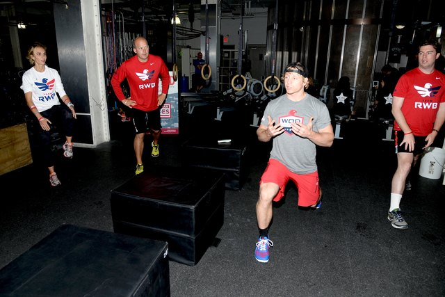 Band-Aid Brand & Team Red, White And Blue Host CrossFit Event For Veteran Heroes With Tim & Elisabeth Hasselbeck
