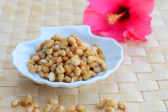 Crispy cheese soy beans