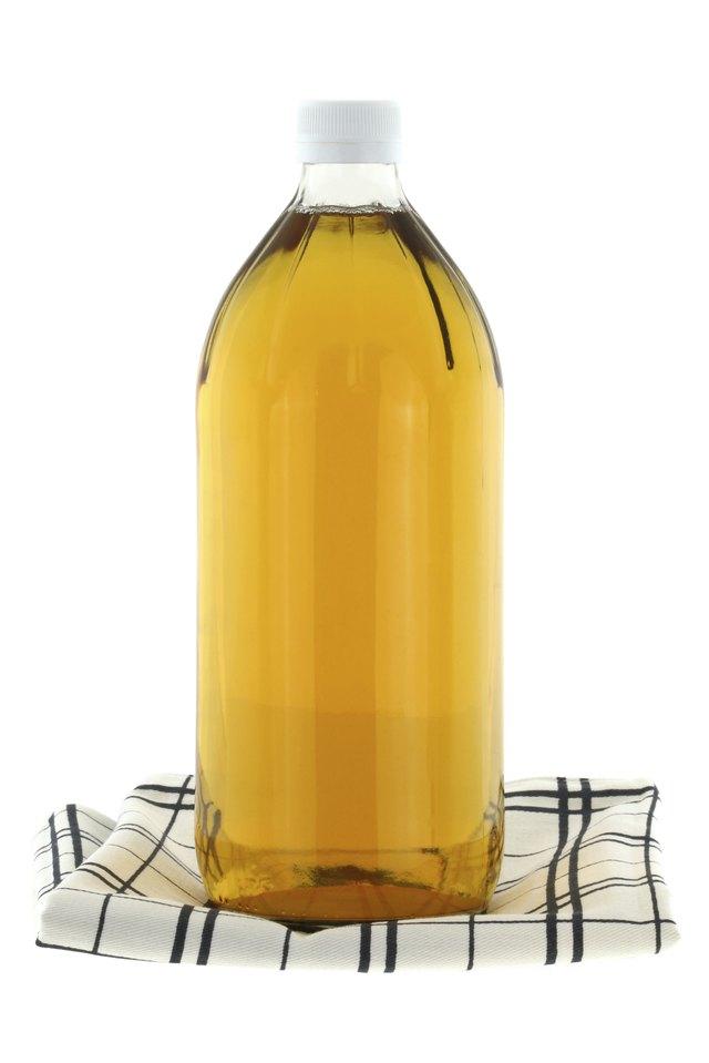 Bottle of filtered Apple Cider Vinegar