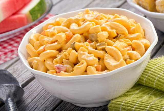 How Many Calories Are in Macaroni Salad?