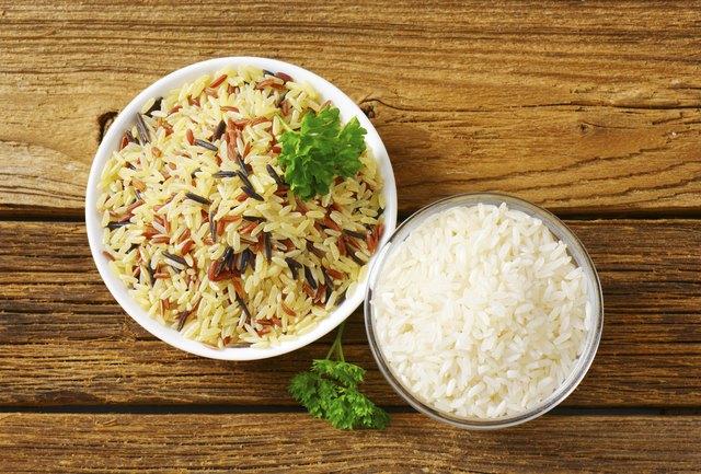Nutrition in Rice vs. Bread