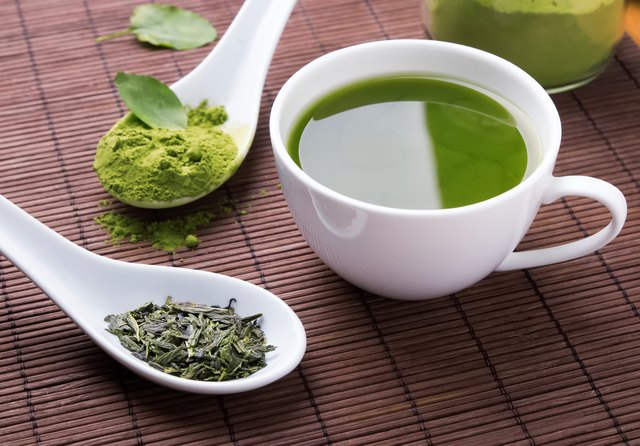 The Ingredient List on an Arizona Diet Green Tea Label