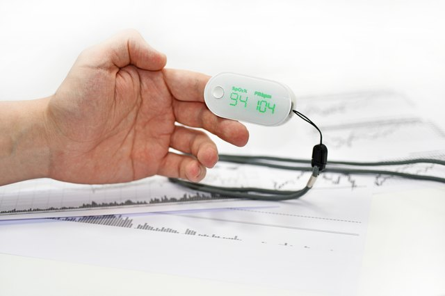 Normal Oxygen Levels Using a Pulse Oximeter