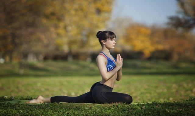 Salamba kapotasana yoga pose
