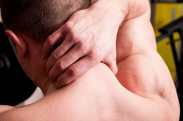 Back neck pain concept