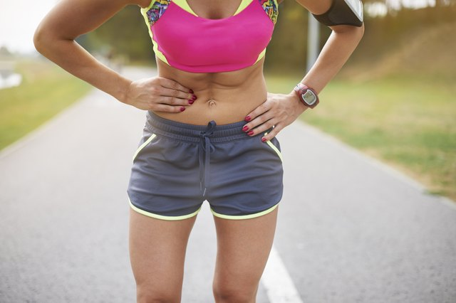 Colic is a frequent problem while jogging