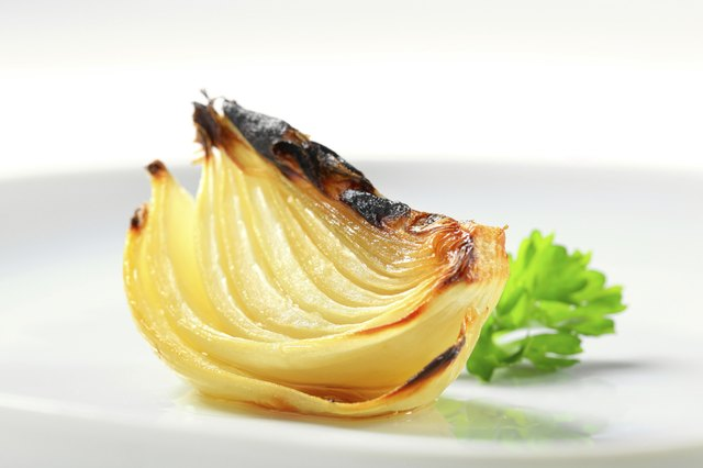 Pan roasted onion