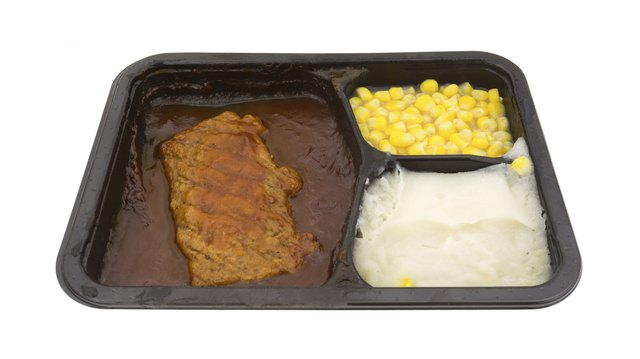 Pork And Vegetables TV Dinner