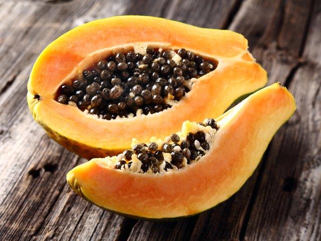 Ripe papaya