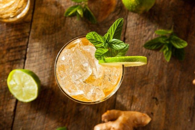 Refreshing Golden Ginger Beer