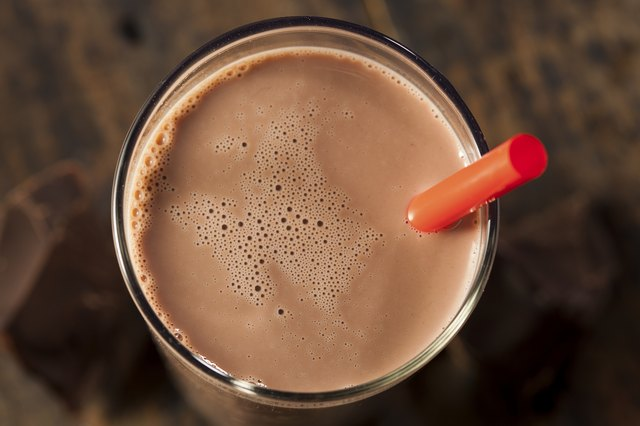 Refreshing Delicious Chocolate Milk