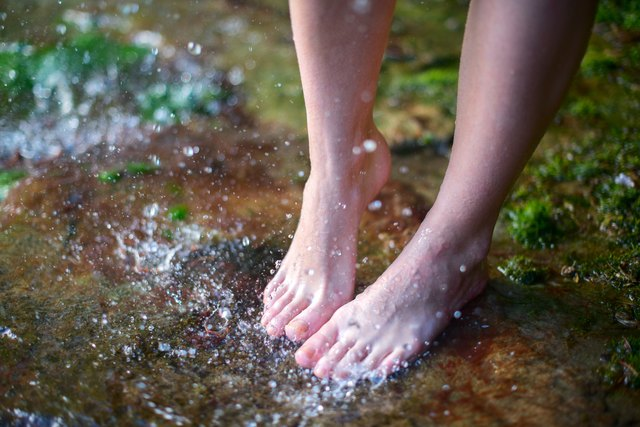 Barefoot on the water