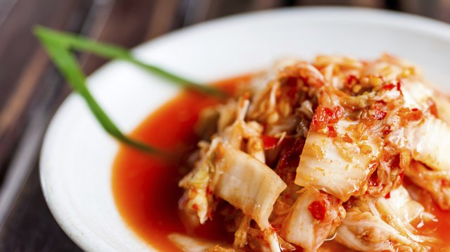 Kimchi salad korean food traditional