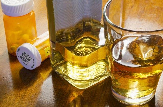 liquor with pills