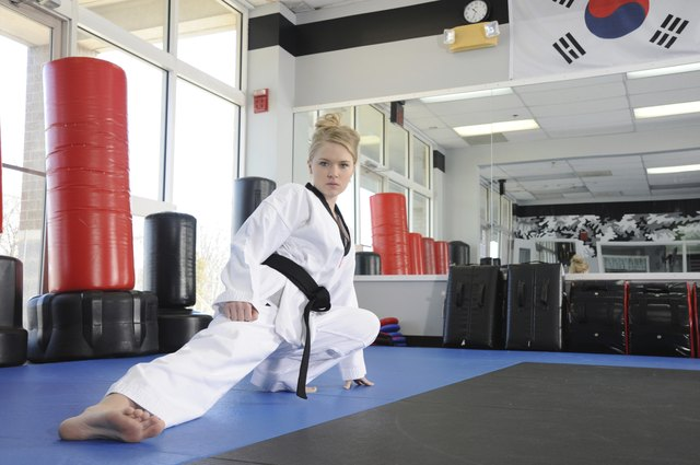 How to Get a Body of a Professional Taekwondo Fighter