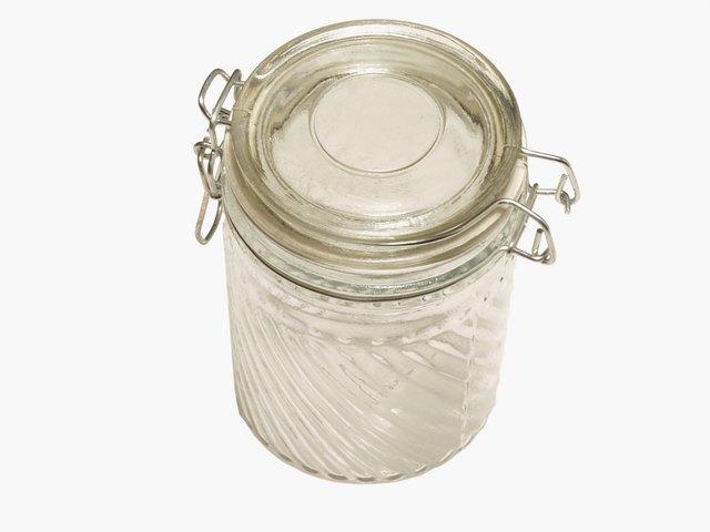 A jar of sugar