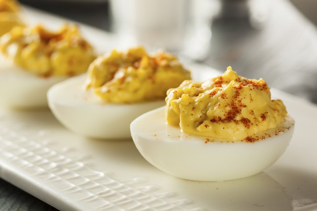 How to Replace Mayo in Deviled Eggs | Livestrong.com