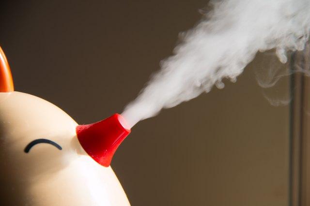 Spray humidifier