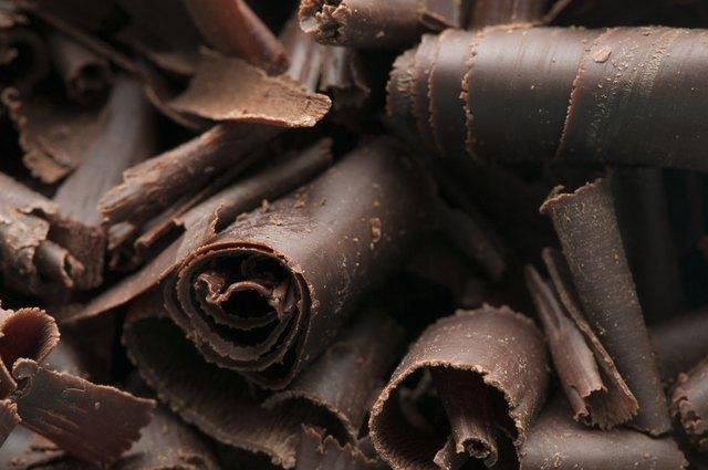 Chocolate Shavings Background