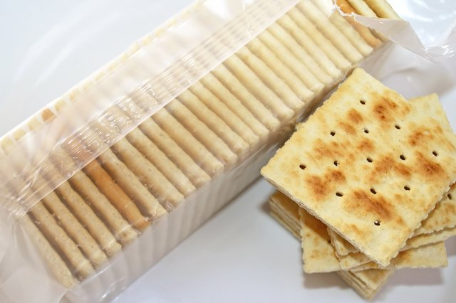 Soda Crackers - ideal as a snack and with soup