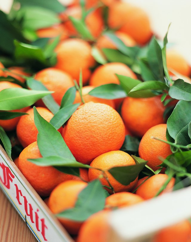 Crate Full of Oranges