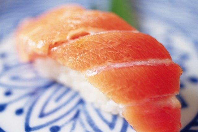 Sushi, Close Up, Differential Focus