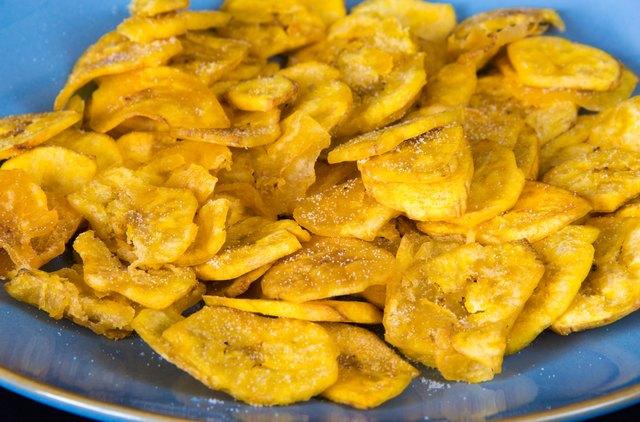 Cuban Cuisine: Plantain Salty Chips