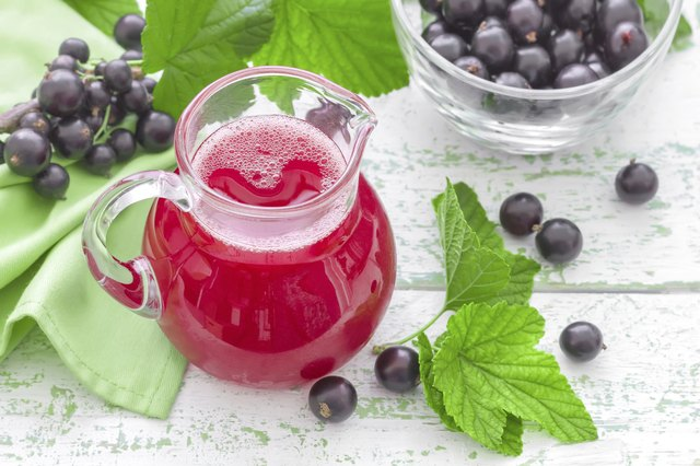 Black currant juice