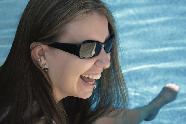 Poolside Laughter
