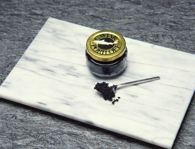Jar of caviar