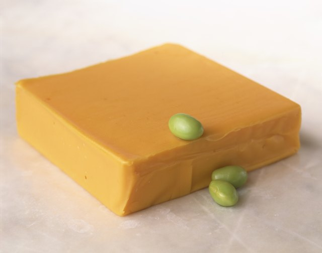 Soy cheese still life