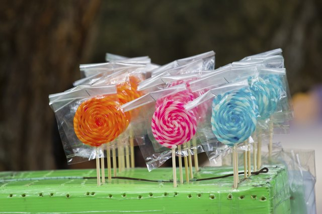 lollipops - good for little kids