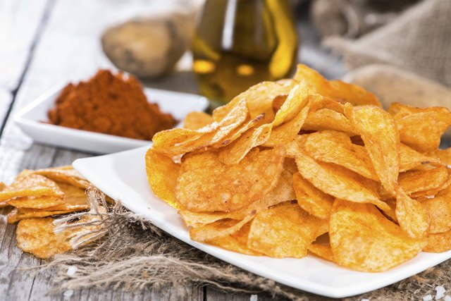 Potato Chips with fresh ingredients