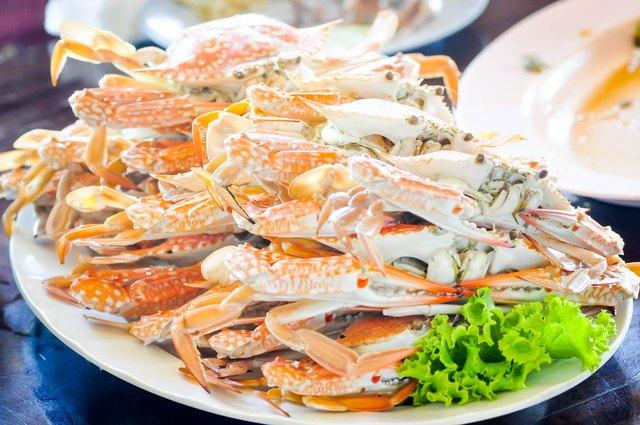 stream crab dish
