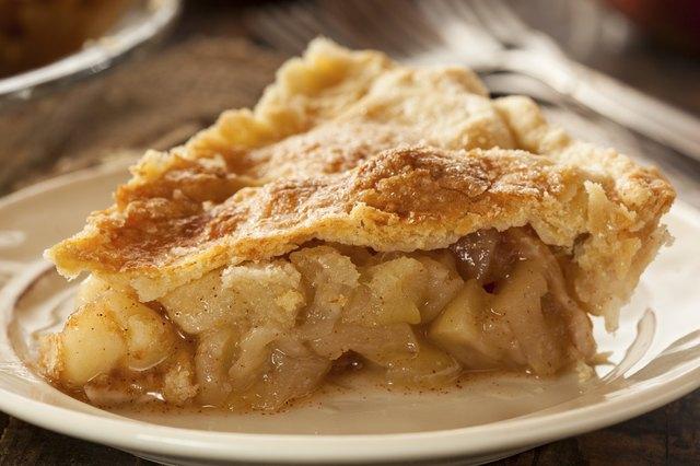 Homemade Organic Apple Pie Dessert
