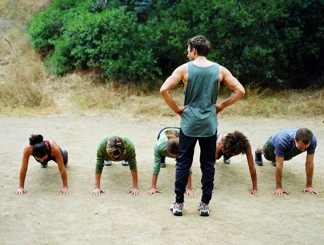 Basic Military Training Workout