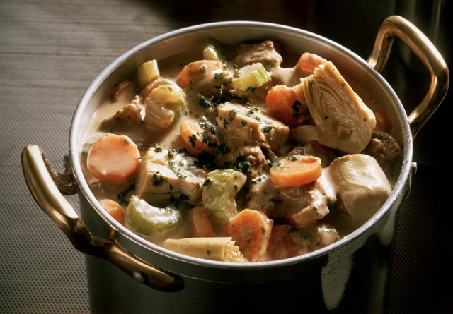 Veal Goulash with Artichokes