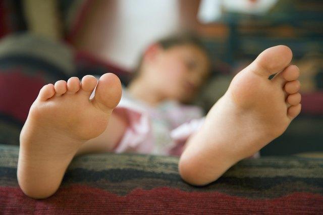 Smelly Feet in Children
